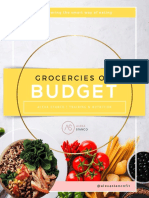 Groceries on a Budget [11 pages]