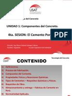 Sesion 4 - Cemento