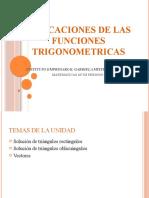 Aplicaciones de Las Funciones Trigonometricas
