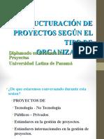 02 Sesion 11 Sept 018 - Estructuración de proyectos según el tipo de organización.ppt
