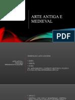 ARTE ANTIGA E MEDIEVAL
