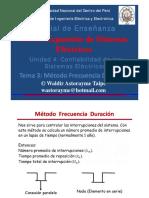Unidad 4.3 - Método Frecuencia Duración 2020