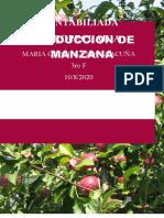 TAREA DE LA PRODUCCION DE MANZANA