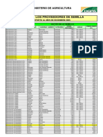 STOCK DE PROVEEDORES DE SEMILLAS