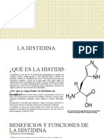 La Histidina