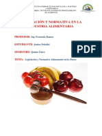 PEÑAFIEL JUNIOR_ LEGISLACION ALIMENTARIA EN LOS PAÍSES.