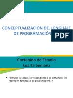 Actividad 4 - Conceptualización del lenguaje de programación c++