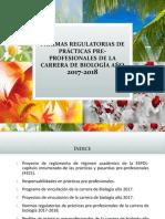Normas regulatorias de prácticas pre-profesionales FCV 2017-2018 (5 de mayo de 2017)