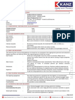 Sodium sililcate Solution-MSDS