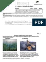 Guía N° 2 Historia y Geografía 5to. Básico Recursos Naturales