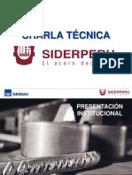 6. Charla Tecnica SIDERPERU.pdf