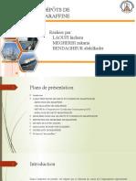 Exposé de reservoir engineering (Les paraffines ).pptx
