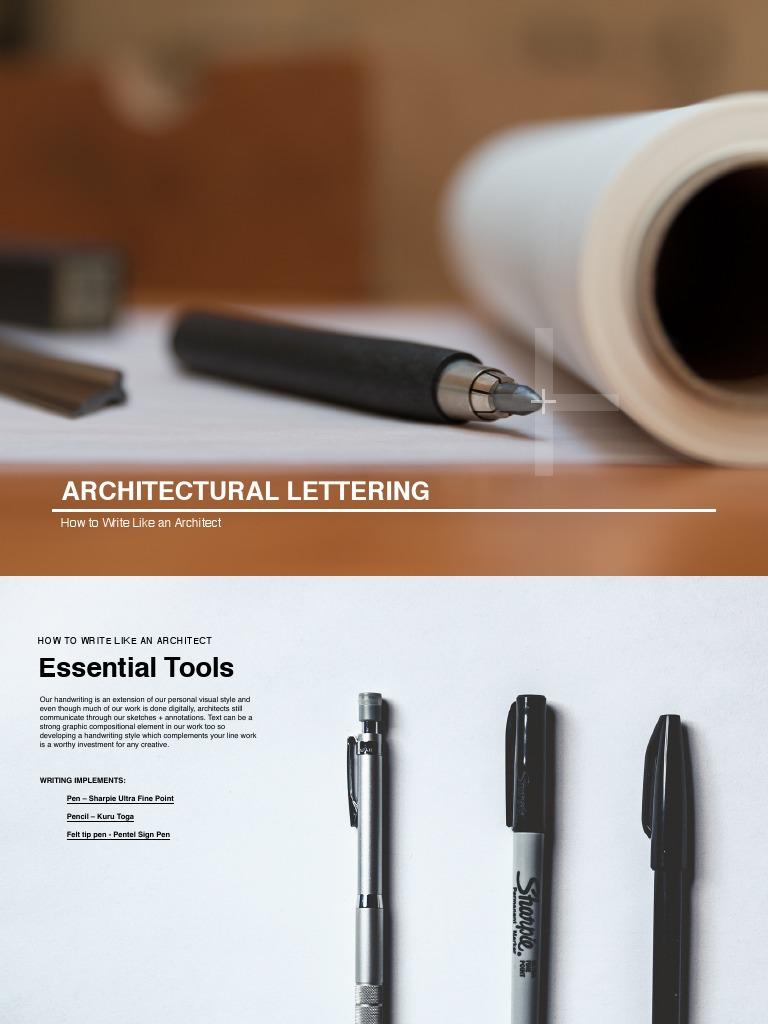 How To Write Like An Architect  PDF  Writing  Art Media