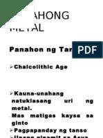 PANAHONG METAL