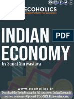 Indian Economy by SANAT SHRIVASTAVA