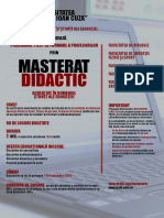 Afis Master Didactic