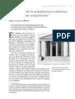 arquitectos noucentistas