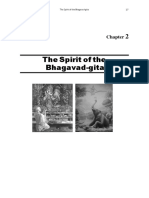 The Spirit of the Bhagvad Gita