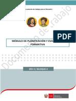 Planificacion y Evaluacion Formativa EDUCARE3 Ccesa007