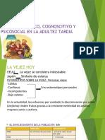 Desarrollo físico, cognitivo y psicosocial adultez tardía