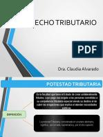 CLASES DE DERECHO TRIBUTARIO UNIDAD I. TEMA 1 POTESTAD TRIBUTARIA
