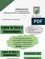 EDUCACIÓN ÉTICO-LIBERADORA. CENTRO DE ÉTICA Y HUMANIDADES. S 4