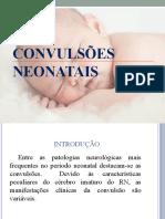 Convulsões neonatais
