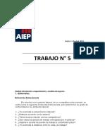 Trabajo 5 - Requerimientos - AIEP