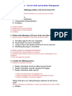 ITIL V2 Questions - Service Desk and Incident Management (1).doc
