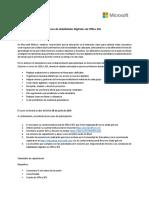 Curso de Habilidades Digitales en Office 365