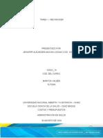TAREA 1 RECONOCER- COSTOS Y PRESUPUESTO - JENNIFER MACIAS.docx