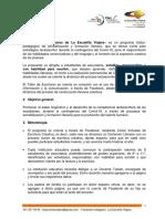 BASES - Taller de Escritores de La Escuelita Viajera, Version 15-2020 (1)