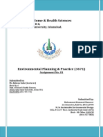 Solution-3671 Environmental Planning & Practice