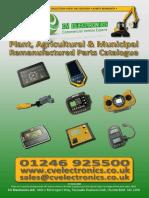 CV Electronics Ltd. Plant, Agricultural & Municipal Remanufactured Parts Catalogue