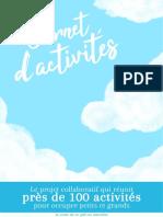 Cahier D'activités Collaboratif