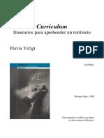 Curriculum-Itinerarios para aprender un territorio-Terigi