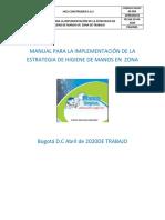MANUAL PARA LA IMPLEMENTACIÓN DE LA ESTRATEGIA DE HIGIENE DE MANOS EN  ZONA Hg.pdf