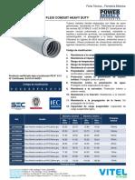 Ficha Tecnica - Tuberia Flexible Metalico Con PVC (Mm)