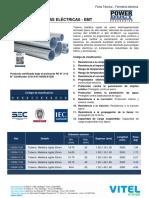 Ficha Tecnica - Tuberias EMT y Accesorios (Mm)