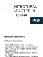 Review - Architectural Character in China