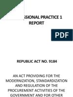 Review - Government Procurement Reform Act
