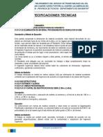 ESPECIFICACIONES TÉCNICAS PONTON