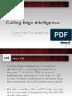 CEI - Corporate Presentation