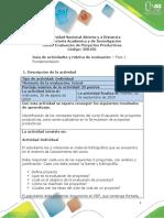 Guía de actividades y Rúbrica de evaluación - Unidad 1 - Fase 1 - Fundamentación