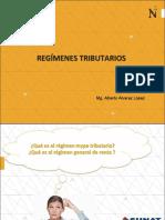 SESIÓN 6  SEMANA 3   REGíMENES TRIBUTARIOS MYPE TRIBUTARIO RÉGIMEN GENERAL