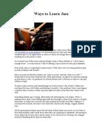 5 Effective Ways to Learn Jazz Standards.doc