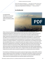 OPS_OMS _ Contaminación del Aire Ambiental