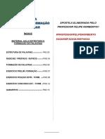 APOSTILA ASSUNTO 4 - ESTRUTURA E FORMAÇÃO DE PALAVRAS_5f2a710ca96228238527218c46049ef3