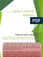CLASIFICACION Y TIPOS DE AUDITORIA
