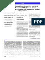 Treatment-resistant bipolar depression- a STEP-BD equipoise randomized effectiveness trial of antidepressant augmentation with lamotrigine, inositol, or risperidone.pdf